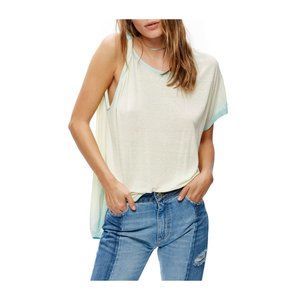 Free People Pluto One-Shoulder Tee Shirt